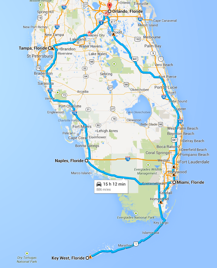 circuit-floride-orlando-miami-key-west