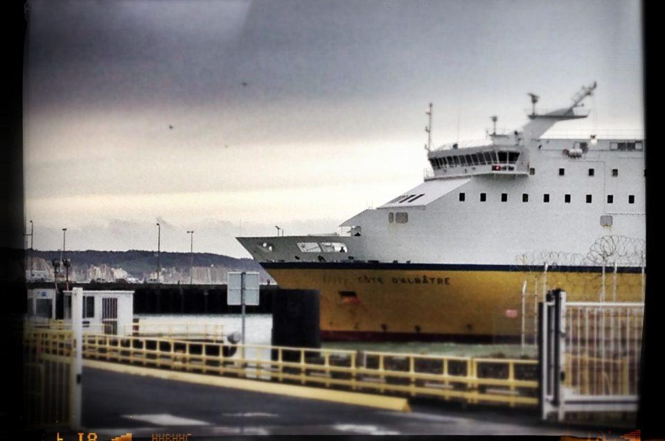 Traversée de la Mache en ferry Dieppe Newhaven