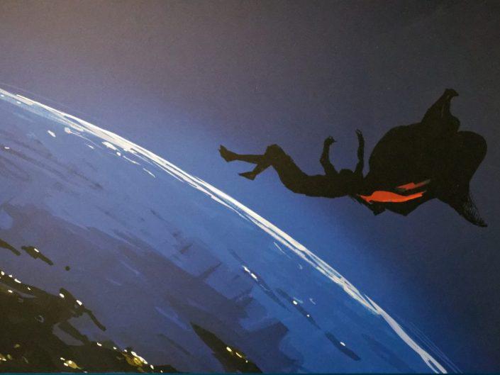 Expo l'Art de DC - L'aube des Super Héros
