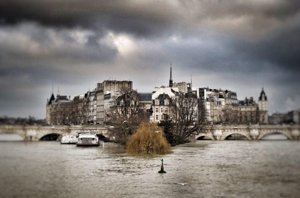 Inondations Paris 2018 - Pont Neuf et Ile de la cité