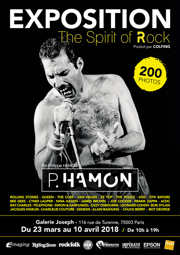 Expo Spirit of Rock - P.Hamon 2018
