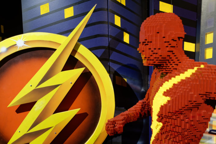 The Art of the Brick : DC Super Heroes