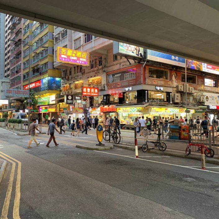 Hong Kong Vie en centre Ville