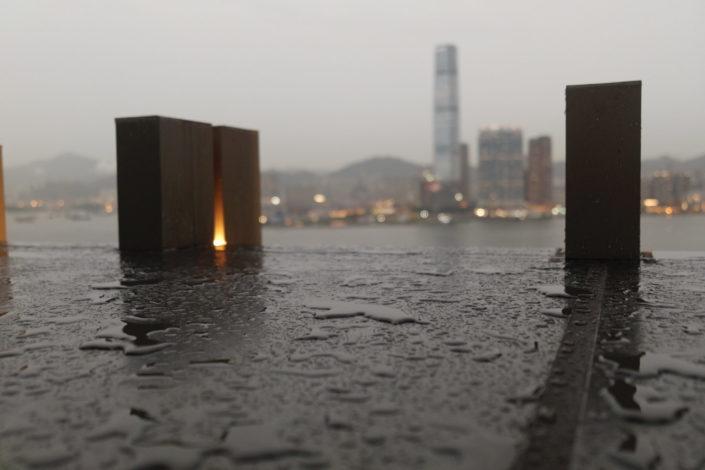Hong Kong Central by Rain