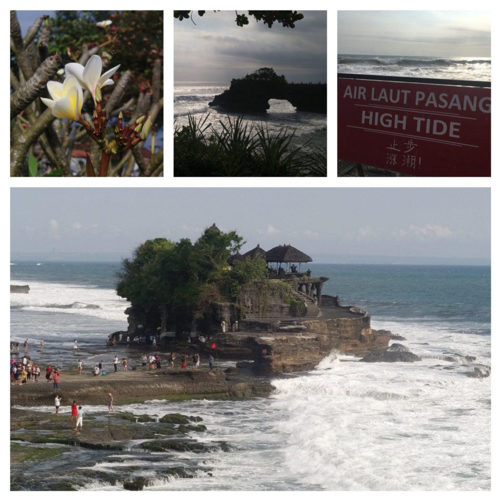 temple de Tanah Lot au sud-ouest d'Ubud sur l'ile de Bali