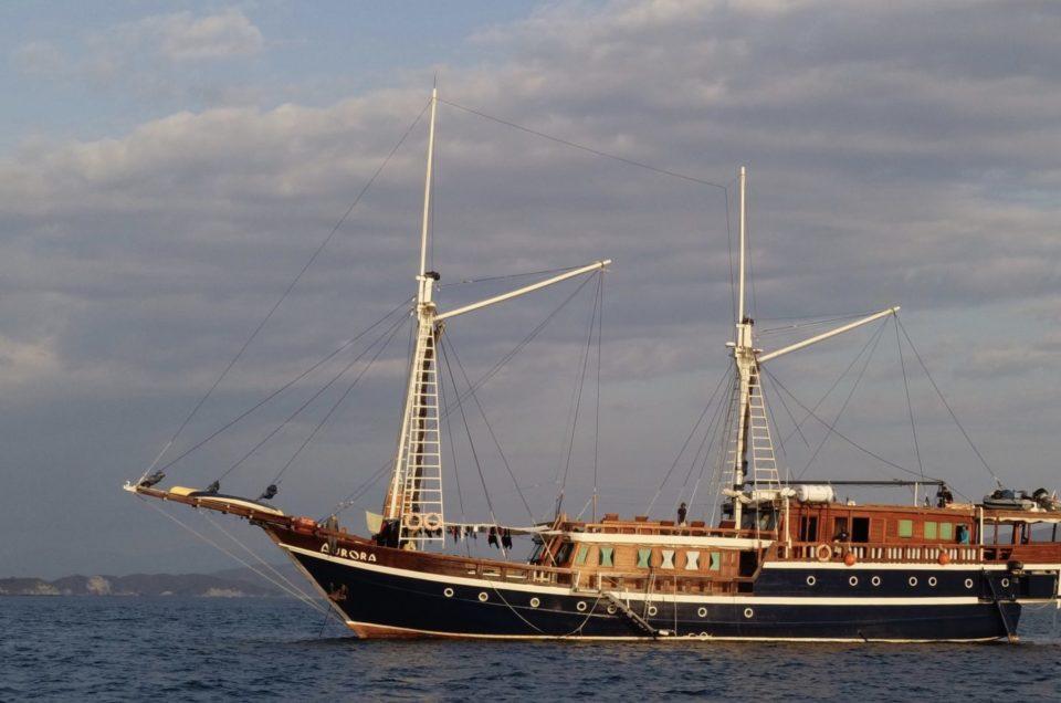Plongée à Komodo, croisière sur l'Aurora