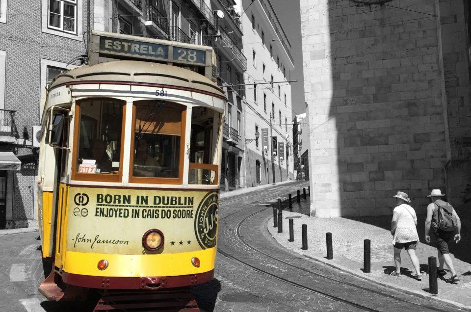 Le tram 28 pour visiter Lisbonne