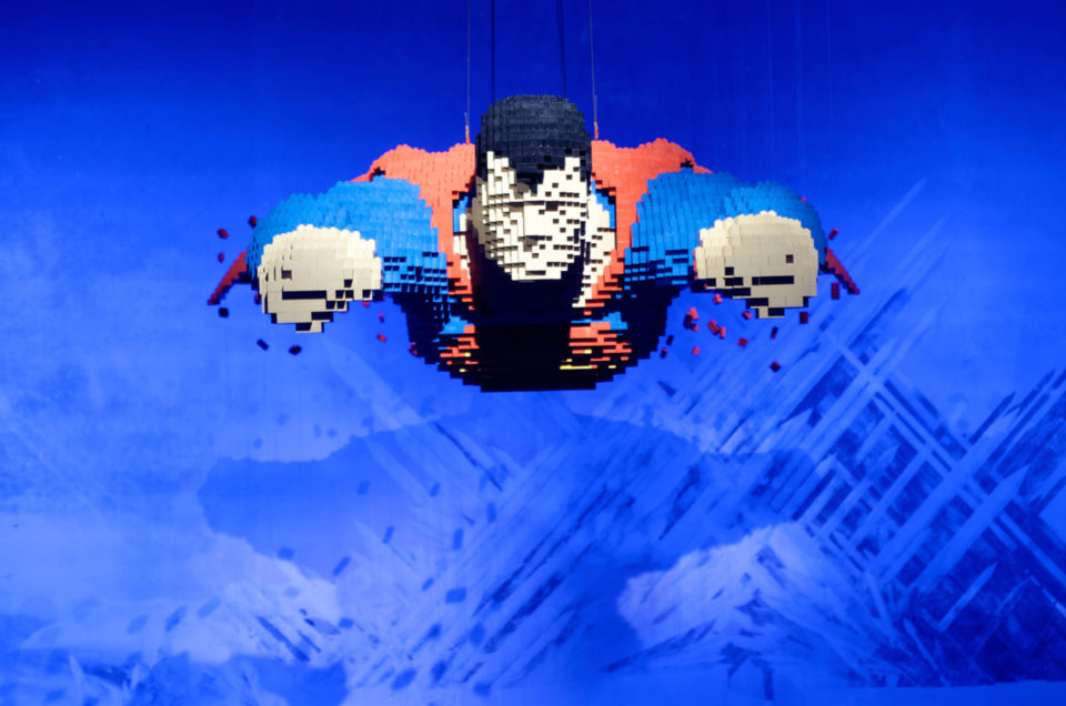 Expo The Art of the Brick : DC Super Heroes