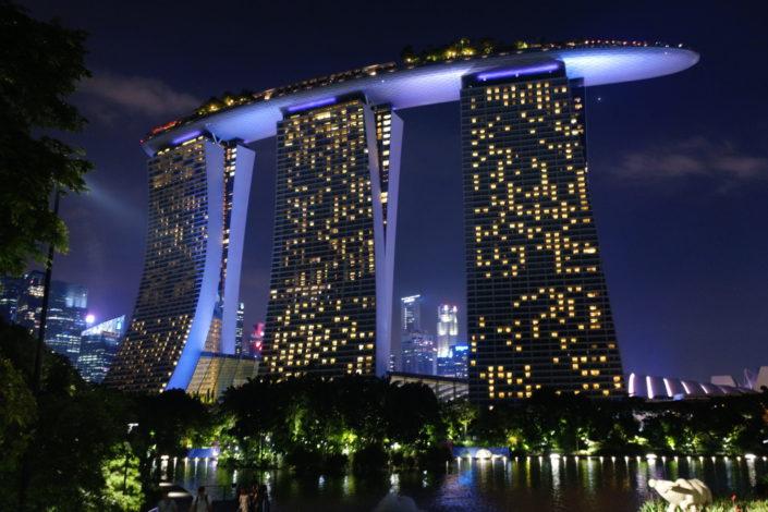 Singapore - Marina Bay Sands - (c) 2018 Laurent Reich