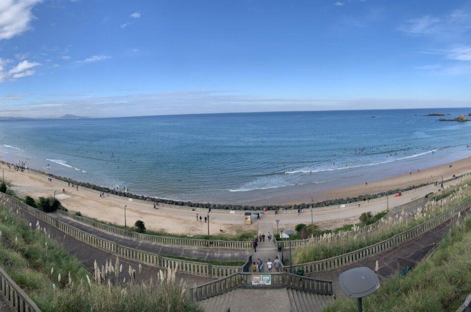 Week-end ensoleillé à Biarritz